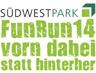 FunRun 2014 im Süd-West-Park in Nürnberg